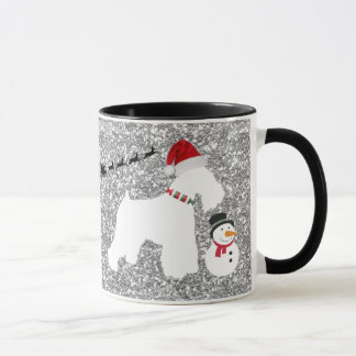 Schnauzer Christmas Coffee Mug