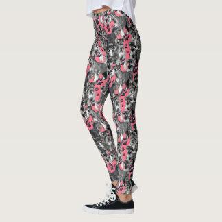 Schnauzer design Leggings