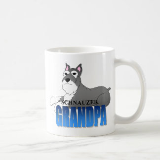 Schnauzer Dog Grandpa Coffee Mug