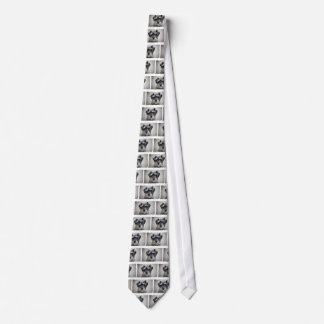 Schnauzer Dog Men's Tie