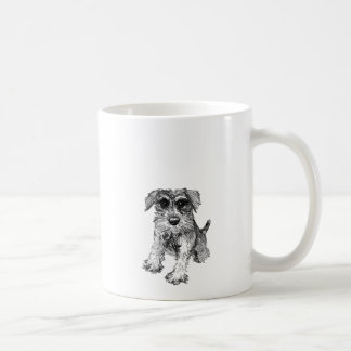 Schnauzer Drawing on Mug