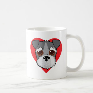 Schnauzer Face Coffee Mug