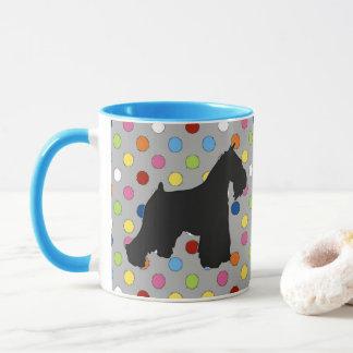Schnauzer Funfetti Coffee Mug