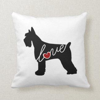 Schnauzer  / Giant Schnauzer Love Cushion
