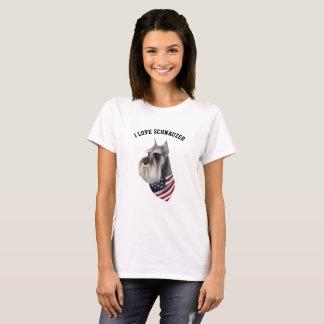 Schnauzer Illustrated T-Shirt