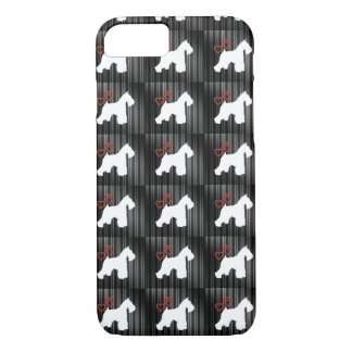 Schnauzer iPhone 7 Phone Case