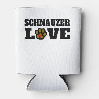 Schnauzer Love Can Cooler