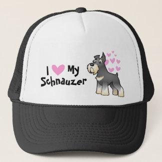 Schnauzer Love Trucker Hat