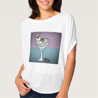 Schnauzer Martini Slouch Shirt