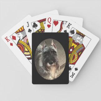 Schnauzer Playing Cards