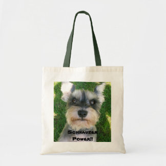 Schnauzer Power!! Tote Bag