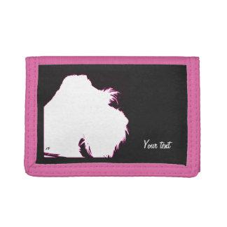 Schnauzer Tri-fold Wallets