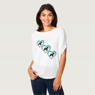 Schnauzers Hearts and Stripes Shirt