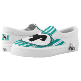 Schnauzers Hearts and Stripes Shoes