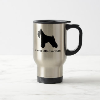 Schnauzers Rule Travel Mug