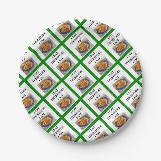 schnitzel paper plate