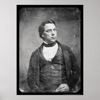 Scholar George Perkins Marsh Daguerreotype 1850 Poster