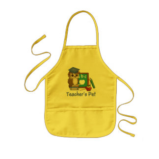 Scholar Owl-Teachers Pet Kids Apron