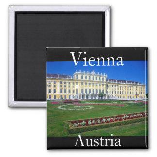 schönbrunn vienna austria square magnet