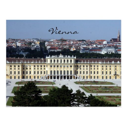 schönbrunn view post cards