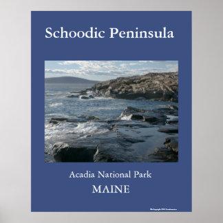Schoodic Peninsula Poster