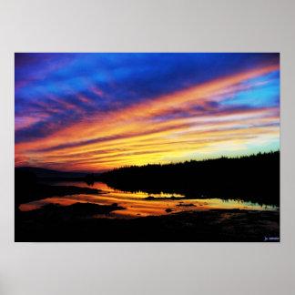 Schoodic Sunset Poster