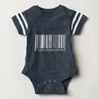 School Administrator Barcode Shirt