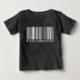 School Administrator Barcode T-shirts