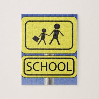 school banner jigsaw puzzle