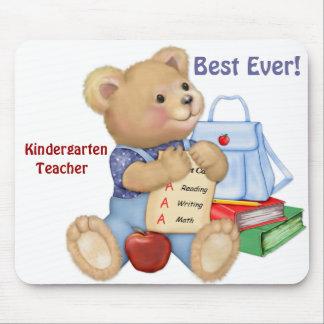 School Bear - Kindergarten Mouse Pad