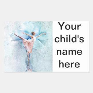 School Book Stickers Ballet