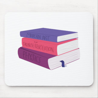 School Books Mouse Pad