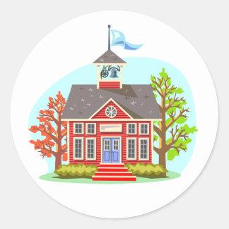 School Building Stickers