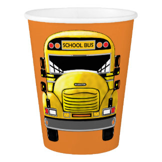 School Bus 8-Party Paper Cups