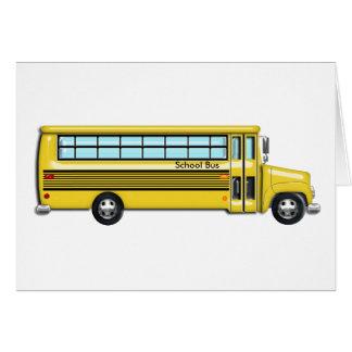 School Bus Card