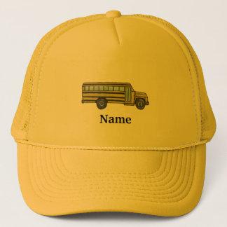 School Bus custom name Hat