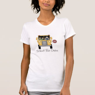 School Bus Driver Custom T-Shirt