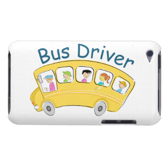 School Bus Driver - Female Case-Mate iPod Touch Case