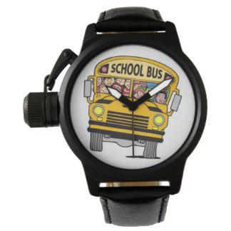 School bus driver watch