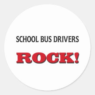 School Bus Drivers Rock Sticker