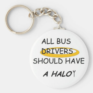 School Bus Drivers Should Have A Halo Key Ring