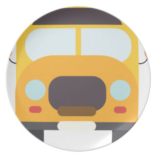 School Bus Front Plate