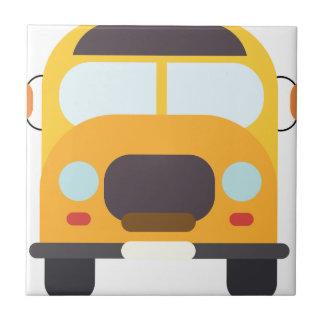 School Bus Front Tile