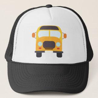 School Bus Front Trucker Hat