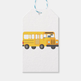 School Bus Gift Tags