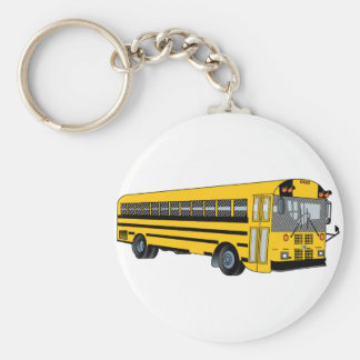 School Bus Key Ring