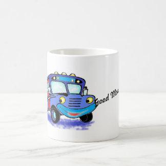 School bus kids decor coffee mug