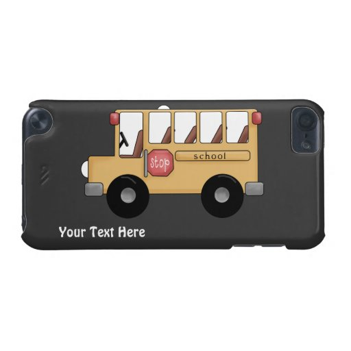 School Bus (personalizable) iPod Touch (5th Generation) Case