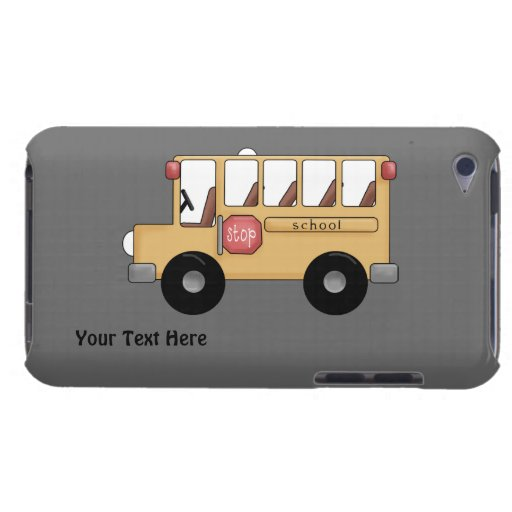 School Bus (personalizable) iPod Touch Covers