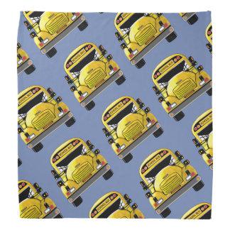 School Bus Personalized Bandana